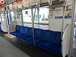 西武30000系(1次車)の一般7人掛け用座席(2014-01-05撮影) 2014-01-21 21-23.JPG