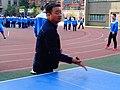 雁塔 陕师大附中分校在打乒乓球 05.jpg