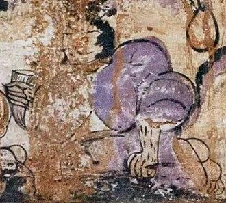 Xiang Yu - Xiang Yu as depicted in a Han dynasty fresco