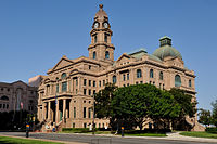 0011Tarrant County Courthouse Full E Fort Worth Texas.jpg
