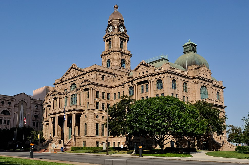 0011Tarrant County Courthouse Full E Fort Worth Texas