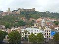 005 Tbilissi La vieille ville -Dzvéli Kalaki- et la citadelle de Narakala.JPG