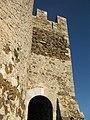 027 Castell de Montsoriu, portal del recinte sobirà.jpg