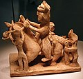 0317-0589 Porcelain Figure on Horseback 01 Eastern Jin to Southern Dynasties National Museum of China anagoria.jpg