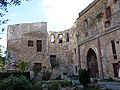 053 Sant Jeroni de la Murtra, ruïnes de l'església.JPG