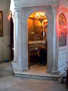 Αποτέλεσμα εικόνας για αγιος δημητριος ο ταφος ιερα λείψαν