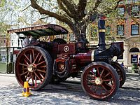 08.05.2016 Charles Burrell & Sons traction engine Horsham West Sussex England 2.jpg