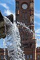 09011281 Spandauer Straße, Neptunbrunnen - 09011264 Rathausstraße 15, Rotes Rathaus - Flickr - Ralph Wachowiak.jpg