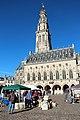 0 Arras, place des Héros - Le beffroi et l'hôtel de ville (5).JPG