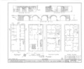 10 Greenwich Street (House), New York, New York County, NY HABS NY,31-NEYO,54D- (sheet 1 of 9).png