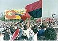 10th anniversary of the Nicaraguan revolution in Managua, 1989.jpg