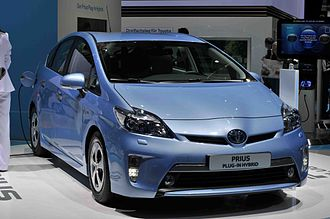 Plug-in hybrid - The Toyota Prius Plug-in Hybrid was launched in Japan and the U.S. in early 2012, and Europe by mid-2012.