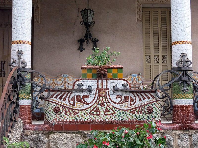 File 114 casa barbey fa ana nord porxo la garriga jpg wikimedia commons - Casa la garriga ...