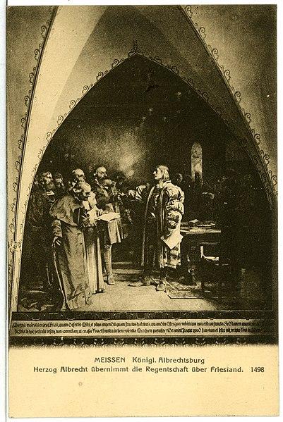 File:11786-Meißen-1910-Albrechtsburg - H. Albrecht übernimmt Friesland-Brück & Sohn Kunstverlag.jpg