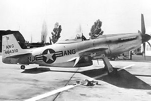 New Jersey Air National Guard - 119th Fighter Squadron F-51H Mustang, AF Ser. No. 44-64310, Newark Airport, 1948