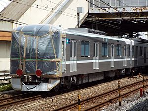 Tokyo Metro 13000 series - The first set, 13101, on delivery in June 2016