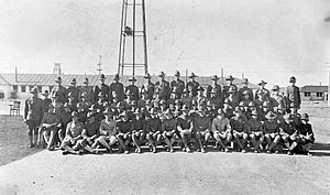 "Dallas Love Field - 136th Aero Squadron (Later Squadron ""C"") Love Field Texas, 1918"