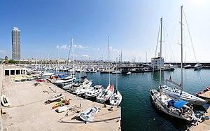 Port Olímpic - Image: 14 08 05 barcelona Ralf R 037