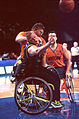 141100 - Wheelchair basketball Troy Sachs fights - 3b - 2000 Sydney match photo.jpg
