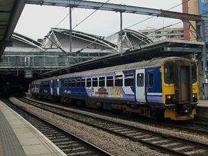 British Rail Class 155 - Image: 155347 C Leeds