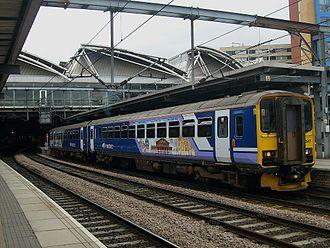 Sprinter (train) - Northern Rail Class 155 at Leeds