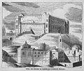 1845, Toledo pintoresca o Descripción de sus mas célebres monumentos, Vista del alcázar de Toledo por el lado de oriente.jpg