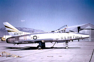188th Rescue Squadron - 188th TFS F-100C Super Sabre 53-1737, 1965