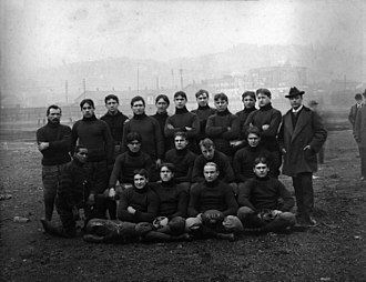 Recreation Park (Pittsburgh) - 1899 WUP team at Recreation Park