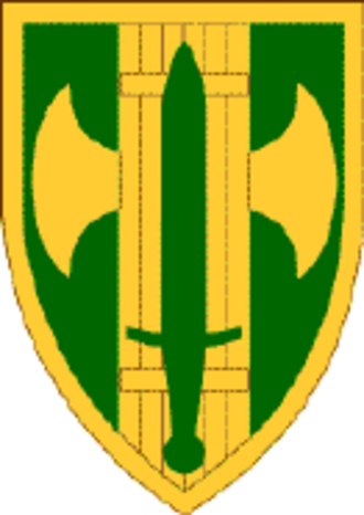 18th Military Police Brigade (United States) - 18th Military Police Brigade Shoulder Sleeve Insignia