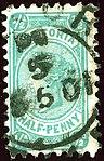 1901 Half d Victoria Yv119 Mi123 SG376 bluish-green.jpg