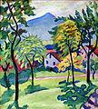 1910 Macke Tegernsee Landschaft anagoria.JPG