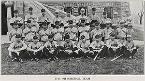 1921 Vanderbilt Commodores baseball team - Image: 1921 Vanderbilt Commodores baseball team