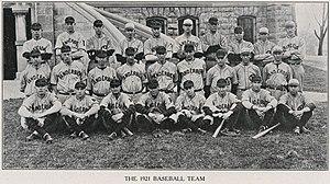 1921 Vanderbilt Commodores baseball team - Image: 1921 Vanderbilt Commodores baseball team
