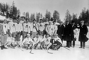 Ice hockey at the 1928 Winter Olympics - Image: 1928 Canada Olympic Hockey Team