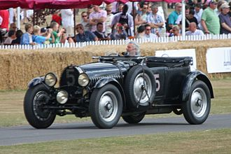 Carrosserie Vanvooren - Vanvooren provided the coachwork for the Torpedo bodied Type 50s which featured in the 24 Hours Le Mans race of 1931