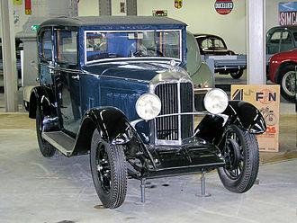 Imperia Automobiles - Imperia 7-25 CV from 1932