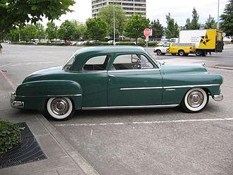 Dodge Coronet - 1951 Dodge Coronet coupe