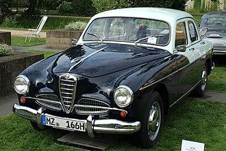 Alfa Romeo 1900 - 1956 1900 Super