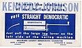 1960 President John F Kennedy Pull The Big Lever Campaign Flyer (2).jpg