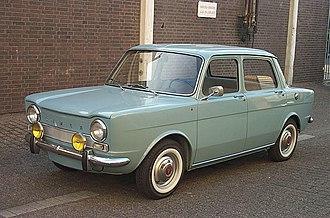 Simca 1000 - Image: 1963 Simca 1000