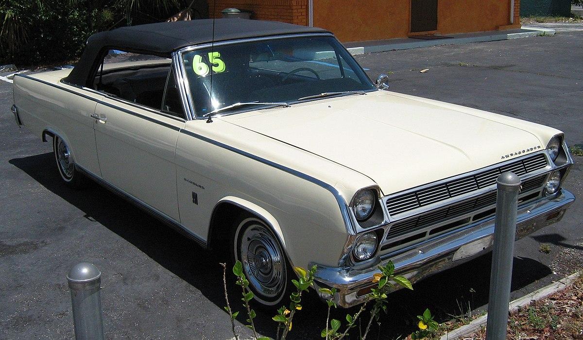 Px Ambassador Convertible Yellow Pb Fr on 1966 Dodge Dart Convertible