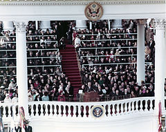 Second inauguration of lyndon b johnson wikipedia for First president to be inaugurated on january 20