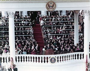Second inauguration of Lyndon B. Johnson - Image: 1965 Inauguration of President Lyndon Johnson