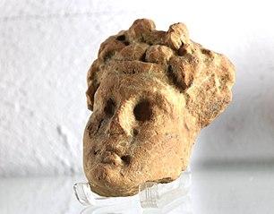 Tête de jeune dieu, peut-être Bacchus (Musée de Die)