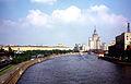 1973 Moskva met Universiteitsgebouw.jpg