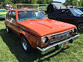 1974 AMC Gremlin X Sienna Orange with black stripes AMO 2015 meet 1of2.jpg