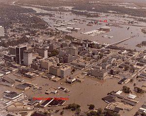1979 Easter flood - Image: 1979 Easter Flood Jackson Mississippi