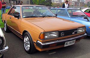Datsun Bluebird (910) - 1982 Bluebird 1.8 SSS Coupé HT (Chile)