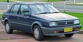 1986 Holden Gemini (RB) SLX sedan (2011-04-22) 01.jpg