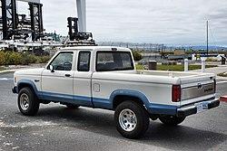 1988 Ford Ranger XLT cabina extendida.